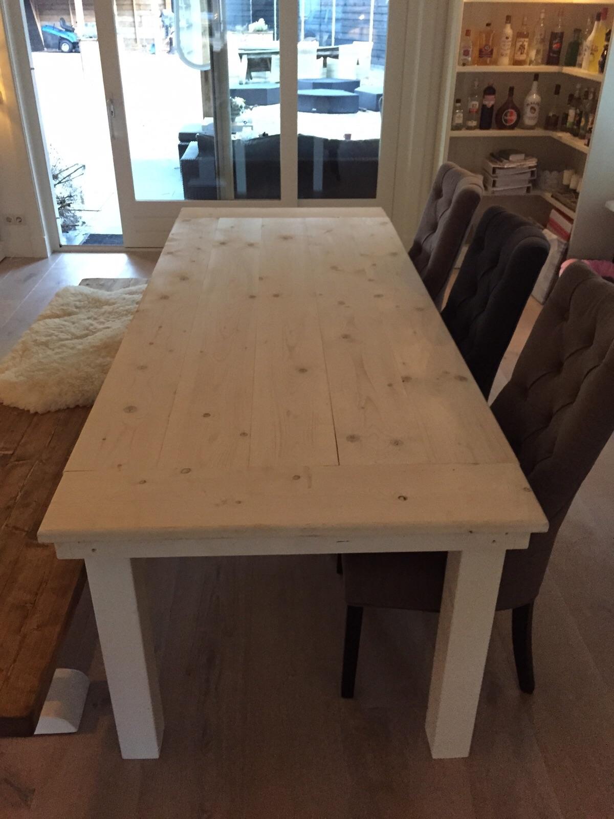 goedkoop steigerhout onbehandelde steigertafel